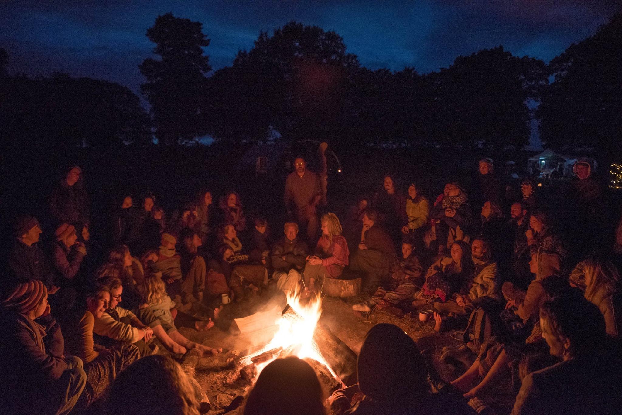 storytelling fireside